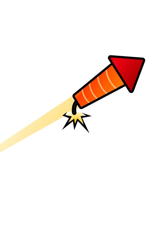 Carlton-vuurwerk-vuurpijl-cartoon